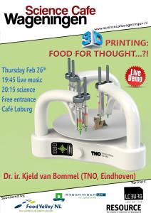 Poster 3D printing