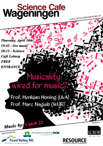 poster Science Cafe Musicality