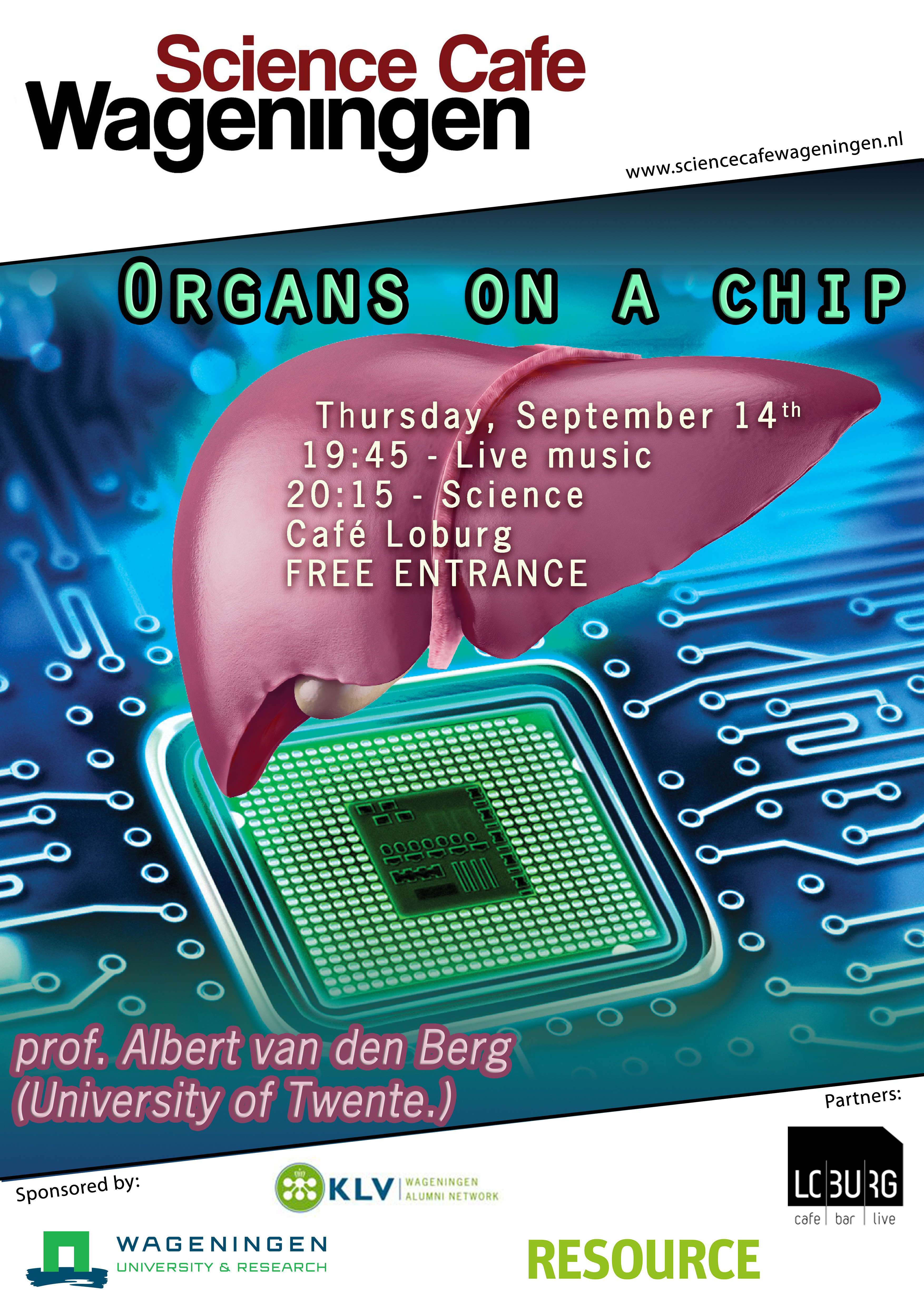 poster organs on a chip